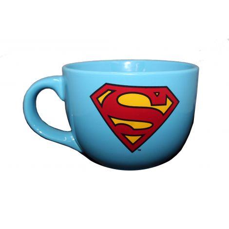 Superman latte mug