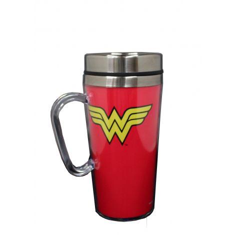 Wonder Woman Logo Travel Mug