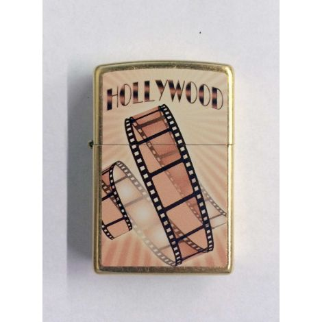 Hollywood Gold film Strip  Zippo Lighter