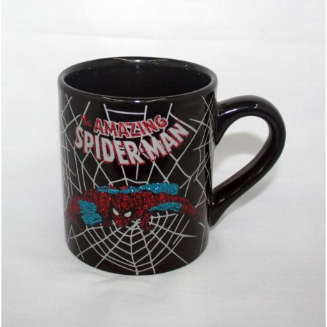 Spider Man Rhinestone Mug