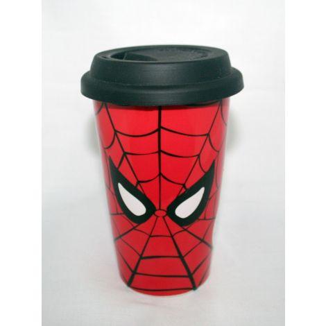 Spider Man ceramic travel mug