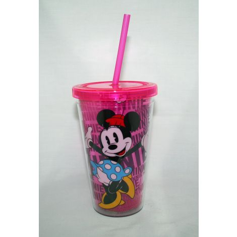 Minnie Mouse 18 oz. Acrylic Travel Cup