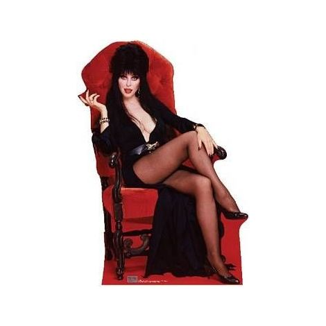 Elvira - Chair, Lifesize cardboard cutout,  #830