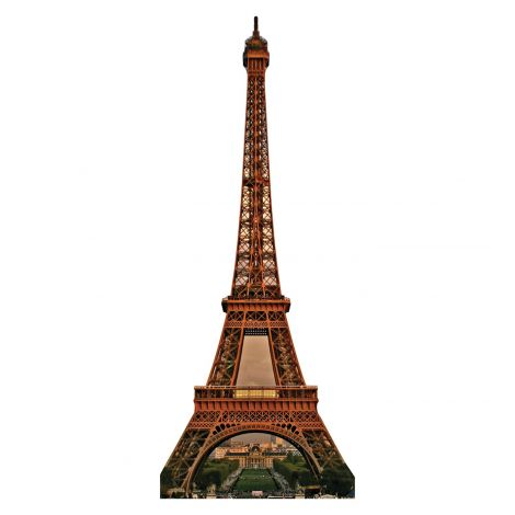 Eiffel Tower Cardboard Cutout #150