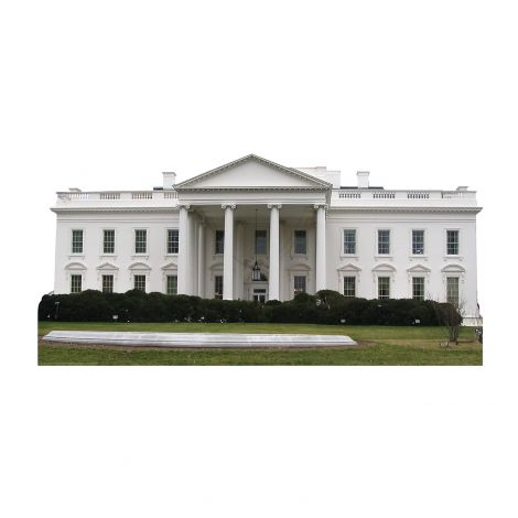 The White House Cardboard Cutout #1600