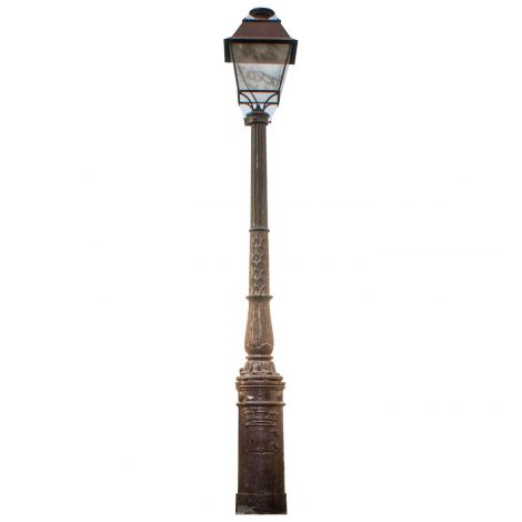 Paris Street Lamp Cardboard Cutout #1847