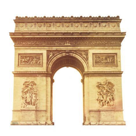 Paris Arc de Triomphe Cardboard Cutout #1849