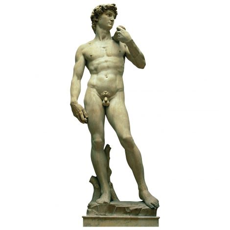 Italy Statue – The David Cardboard Cutout *1855