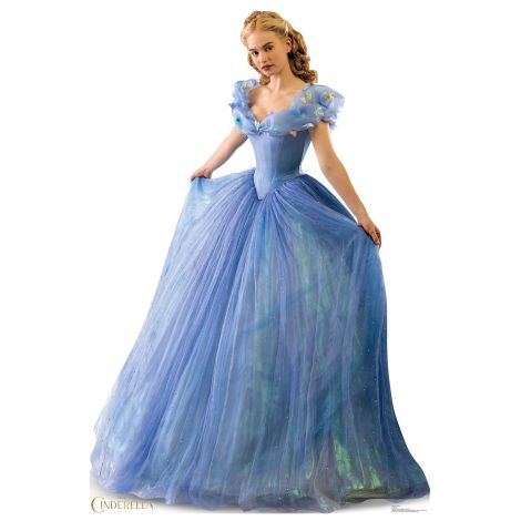Cinderella Ballgown Cardboard Cutout from the Disney Movie Cinderella #1892