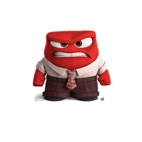 Anger Cardboard Cutout from the movie Inside Out #1922