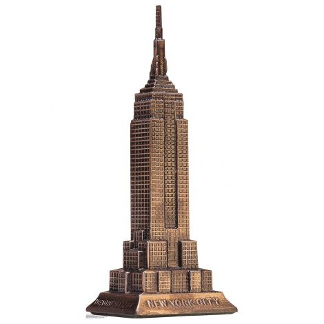Empire State Building Cardboard Cutout *1926