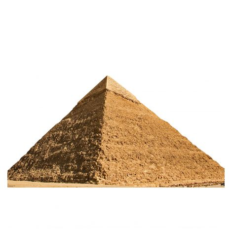 Egyptian Pyramid of Chephren Cardboard Cutout #1930