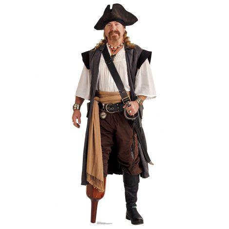 Pirate Peg Leg Cardboard Cutout *1946