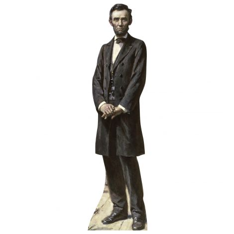 President Lincoln  Cardboard Cutout *1965