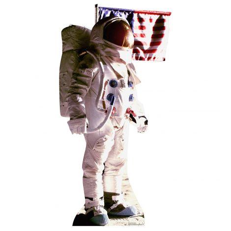 Astronaut Man on the Moon  Cardboard Cutout #1968