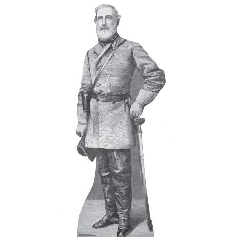 General Robert E Lee Cardboard Cutout *1972