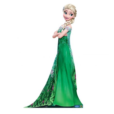 Elsa Cardboard Cutout from the movie Frozen Fever #2010