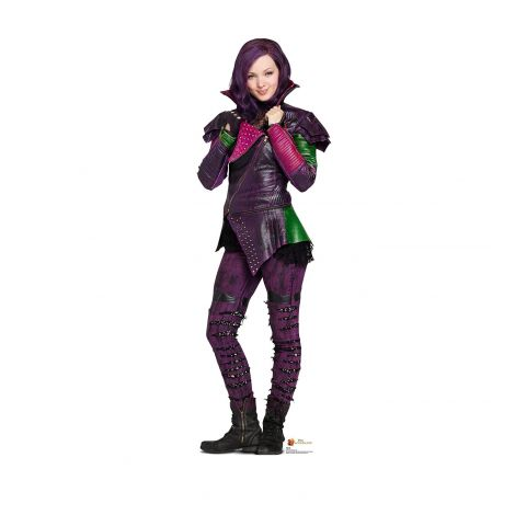 Mal Cardboard Cutout from the TV show Disney Descendants #2021