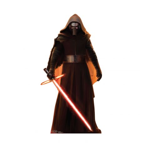 Kylo Ren Cardboard Cutout from the movie Star Wars VII: The Force Awakens #2031