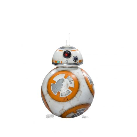 BB-8 Cardboard Cutout from the movie Star Wars VII: The Force Awakens #2034