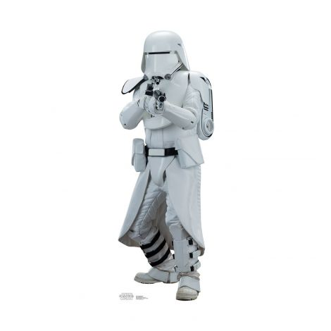 Snowtrooper Cardboard Cutout from the movie Star Wars VII: The Force Awakens #2035