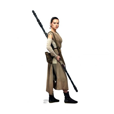 Rey Cardboard Cutout from the movie Star Wars VII: The Force Awakens #2041