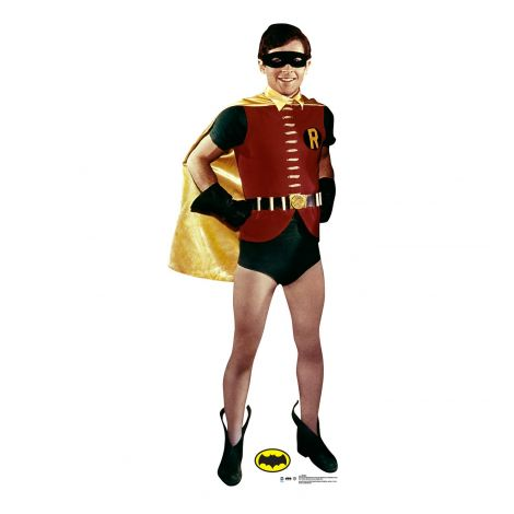 Robin Cardboard Cutout from the 1969 Batman and Robin TV Series *2056