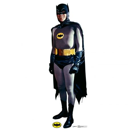 Batman Cardboard Cutout from the 1969 Batman and Robin TV Series #2057