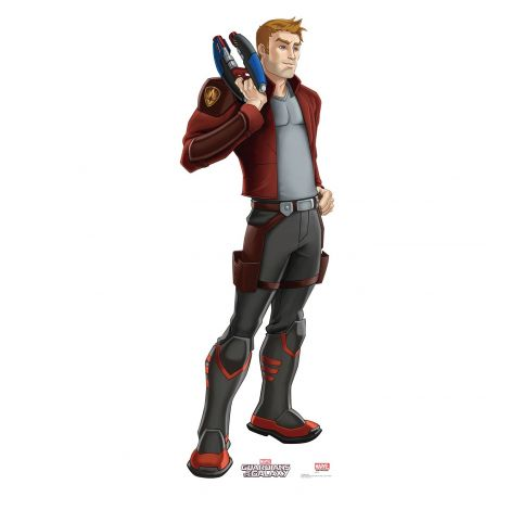 Star-Lord Cardboard Cutout from the animated Guardians of the Galaxy Series #2058