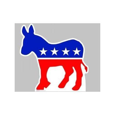 Democratic Donkey, Lifesize cardboard cutout #921