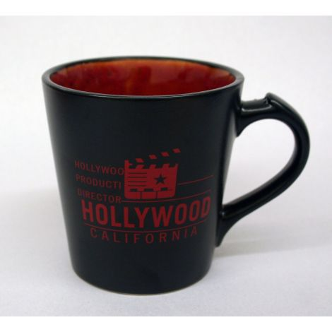 Hollywood Black and Red Clapboard coffee Mug