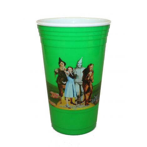 Wizard of Oz  green party cup