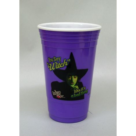 Wizard of Oz purple party cup