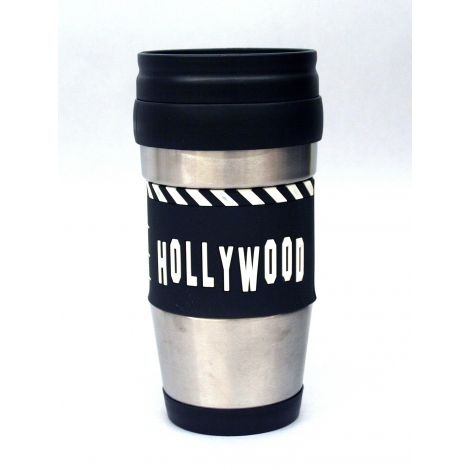 Stainless Steel Tumbler with clapboard design