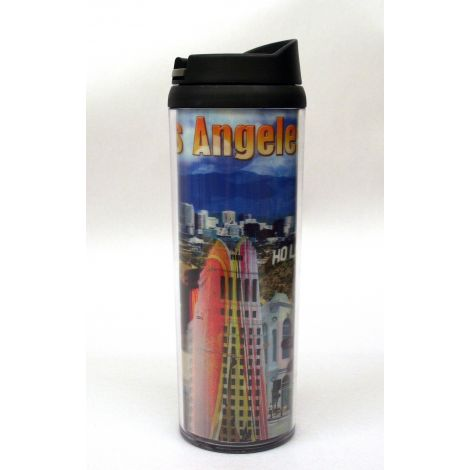 Los Angeles Collage Tumbler