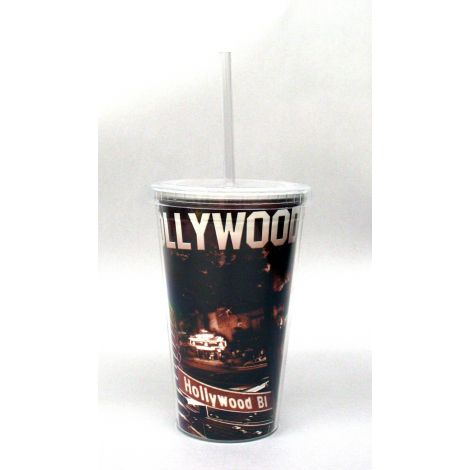 Hollywood Collage Travel Mug