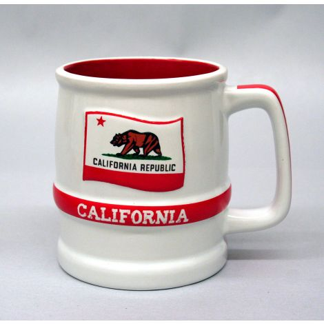 California State Flag Stein