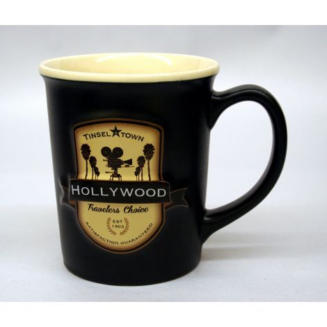 Hollywood Embossed Mug