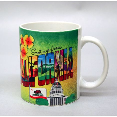 Greetings from California Mug