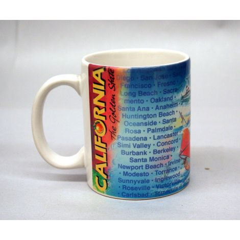 California Golden State Mug