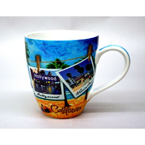 California Beach Coffee Mug