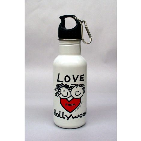Love From Hollywood Stainless Steel Water Bottle