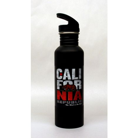 California Stainless Steel Water Bottle