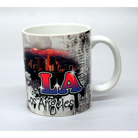 Los Angeles Graffiti Art Mug