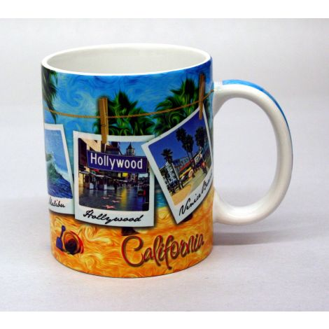 California Beach  Mug