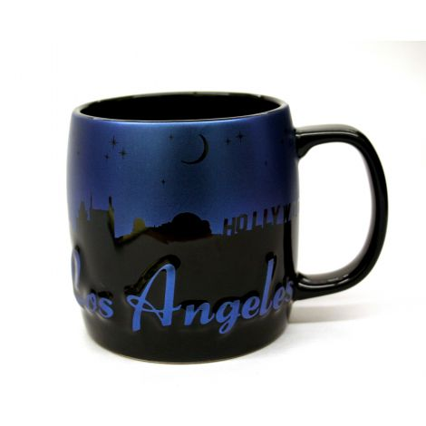 Embossed Los Angeles Mug