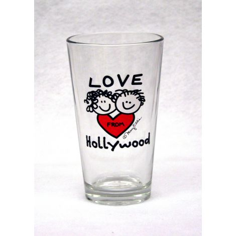 Hollywood Pint Glass