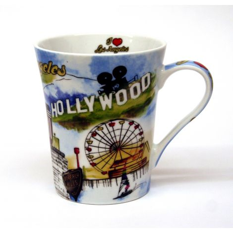 Ceramic Los Angeles Mug with Gift Box