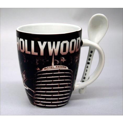 Hollywood Mug with Spoon