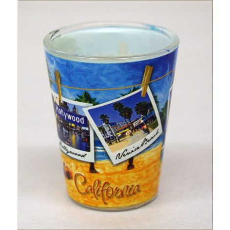 California Beach Shotglass
